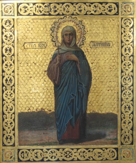 Икона Св. мученица Светлана (Фотиния) XIX-ый век