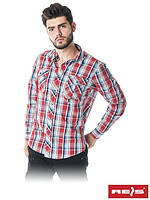 Рубашка мужская модного фасона из высококачественного материала KF-REDWORKS C