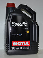 Масло моторное Motul Specific Dexos2 5W30 5 литров
