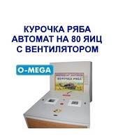 Инкубаторы автоматические Курочка Ряба на 80 яиц с вентилятором
