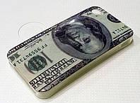 Чехол силиконовый Moshi c рисунком dollar для iPhone 4/4s