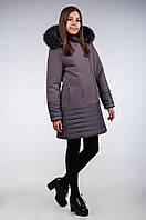 Пальто кашемировое, зимнее для девочки-подростка К-118