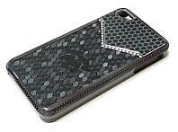 Чехол пластиковый Nock со стразами для iPhone 4/4s