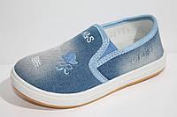 Джинсовые подростковые кеды. Спортивная подростковая обувь кеды от фирмы С.Луч B6857-2 (12пар 33-38)