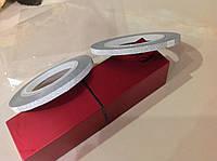 Фольга на липкой основе матовая 3мм серебро
