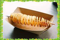 Машинка для нарезки картофеля спиралью Spiral Potato Chips