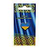 Значок флаг Украины Серце , металл , 15*15 мм.