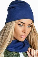 Комплект женский шапка+шарф, фото 1