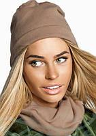 Комплект женский шапка+шарф  аг011, фото 1