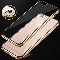 Чехол силиконовый прозрачный на Apple iPhone 6 Plus
