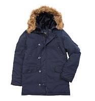 куртка  аляска Altitude alpha industries replica blue