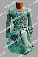 Платье для девочек с украшением и сумочкой