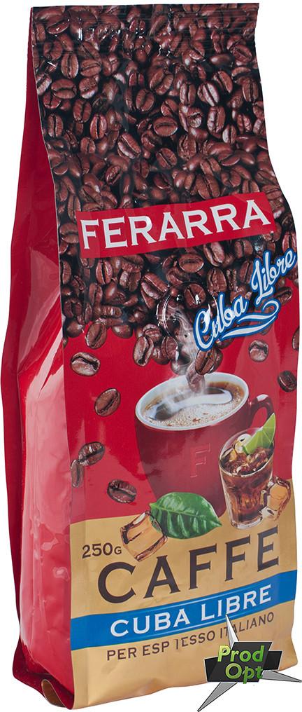Кава зерно Cuba Libre ТМ FERARRA 200 г