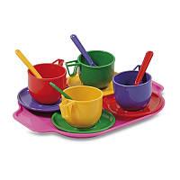 Набор посуды с подносом 13 элементов Юника
