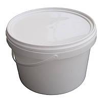 Ведро пластиковое пищевое 2,25 литра с крышкой