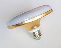 Светодиодная лампа-светильник LED UKC 220V 18W E27 плоская, 1201