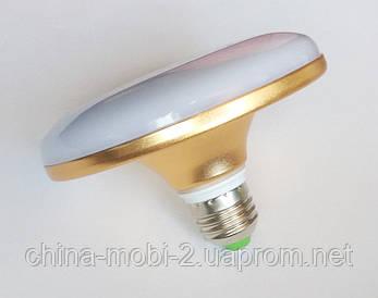 Светодиодная лампа LED UKC 220V 18W E27 плоская, 1201
