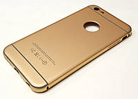 Чехол алюминиевый бампер + пластиковая задняя крышка матовый для iPhone 6 plus / 6s plus