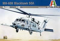 Сборная модель вертолета MH-60K Blackhawk SOA 1/48