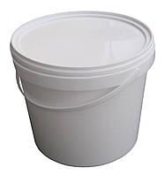 Ведро пластиковое пищевое 5,5 литра с крышкой