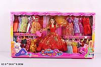 Кукла 31см 2817A-1 с нарядами коробке 62*6*34