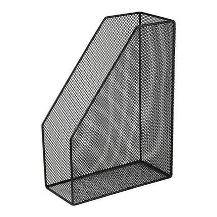 """Лоток для бумаг """"Buromax"""" вертикальный №6260 черный, фото 2"""