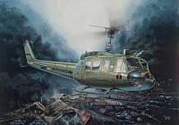 Сборная модель вертолета UH - 1D Iroquois 1/48