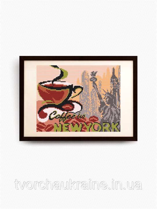 Авторская канва для вышивки бисером «…в Нью-Йорк»