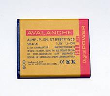АКБ Avalanche для Samsung S7572,S7570,S7270,S7272,S7275,S7260,S7390 ,S7898  (B100AE)-1500 мАч