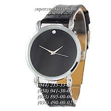 Стильные женские наручные часы 1350-1 Black/Silver/Black