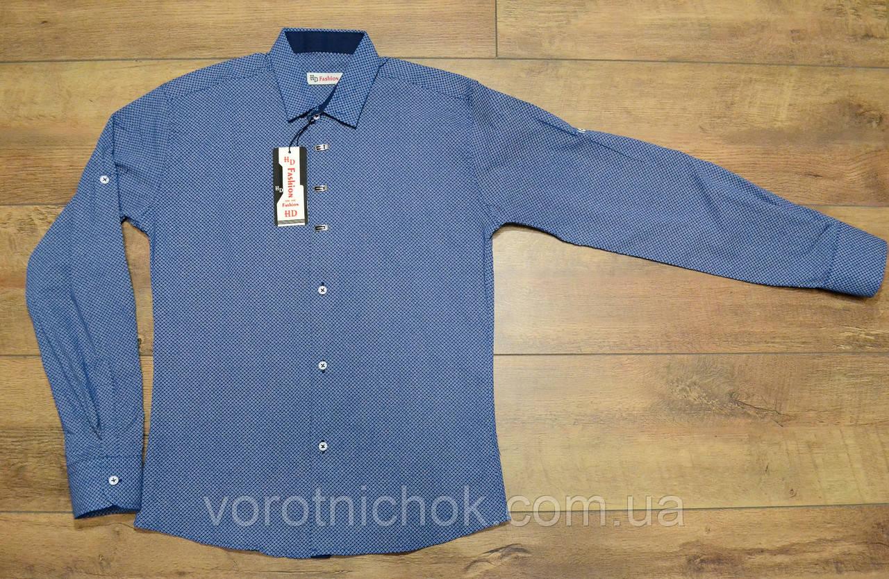 Детская рубашка 7- 12 лет