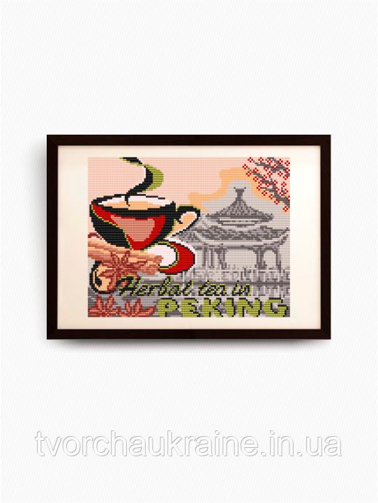 Авторская канва для вышивки бисером «…в Пекин»
