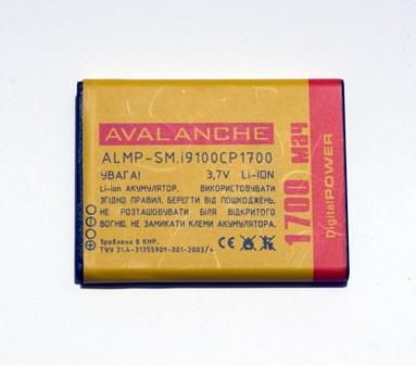 АКБ Avalanche для Samsung I9100, I9103 Galaxy R, I9100G Galaxy S II - 1700 мАч