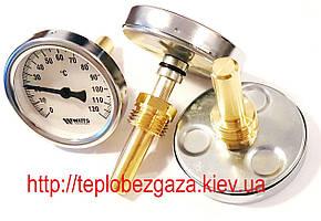 Термометр осевой WATTS F+R801 (Т 63/50 D-63mm 0-120°C L-50mm)