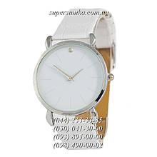 Прекрасные женские наручные часы 1350-1 White/Silver/White