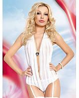 Женское боди Nina S-L белый