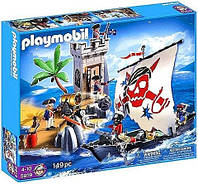 Конструктор Playmobil 5919 Пиратская Крепость, фото 1