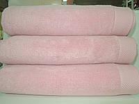 Полотенце махровое для лица розовое микрокотон  Maison D'or