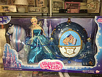 Карета с принцессой большой набор для деток
