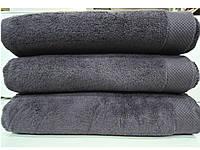 Полотенце махровое для лица темно-серое микрокотон  Maison D'or