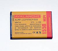 АКБ Avalanche для LG P970, P690, E730, P698, C660 , E510, E400 L3, E610  L5 (BL-44JN) - 1550 мАч