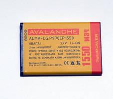 АКБ Li-ion для LG P970, P690, E730, P698, C660 , E510, E400 L3, E610  L5, E405 L3 Dual,A290 (BL-44JN) - 1250