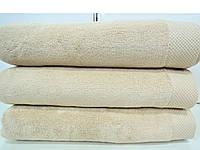 Полотенце махровое для лица песочное микрокотон  Maison D'or