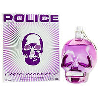 Police To Be Women парфюмированная вода 125 ml. (Полиция Ту Би Вумен)