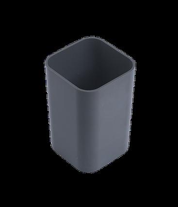 """Подставка настольная """"Economix"""" стакан, черный 81673, фото 2"""