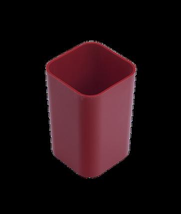"""Подставка настольная """"Economix"""" стакан, красный 81673, фото 2"""