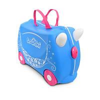 Детский чемодан TRUNKI PRINCESS PEARL / Транки Принцесса Перл, фото 1