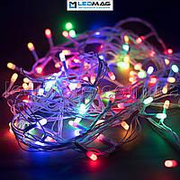 Светодиодная гирлянда String нить 90LED 6,5м белый провод, фото 1