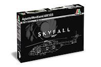 Сборная модель вертолета AgustaWestland AW - 101 ''SKYFALL'' 1/72