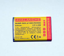 АКБ Avalanche для Nokia 5100,6100,7200 (BL4C) - 900мАч